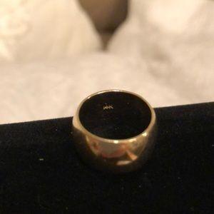 1/3 oz. 14k Yellow Gold Ring Band